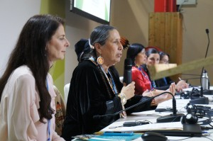 Global Women & Indigenous People on Frontline of Climate Event